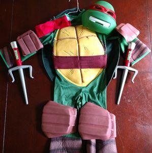 Boys TMNT Raphael Costume size Small (4 to 6)